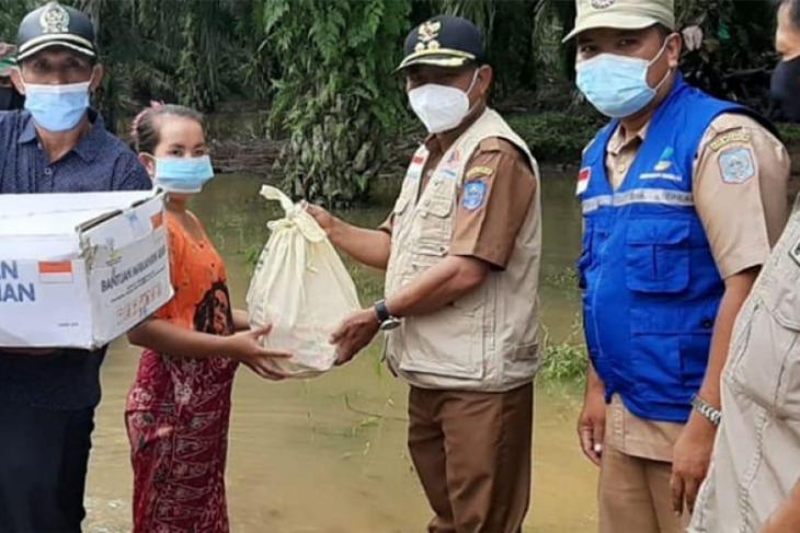 Banjir di Merangin landa sejumlah desa