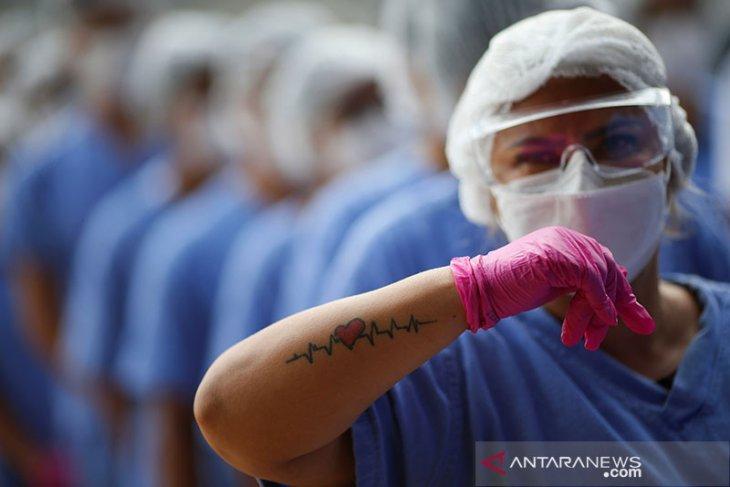 Ilmuwan di Brazil temukan pasien dengan dua jenis COVID berbeda