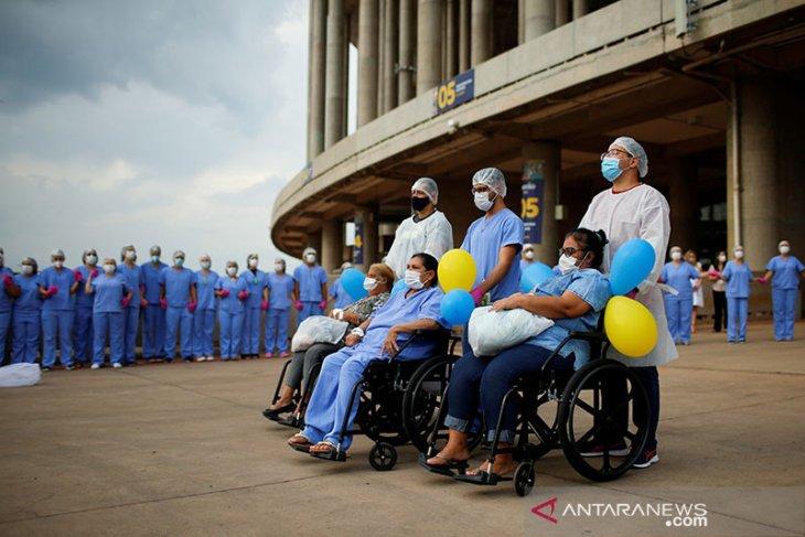 Sehari, Brazil tambah 69.198 kasus  COVID-19 baru, dan 1.151 kematian