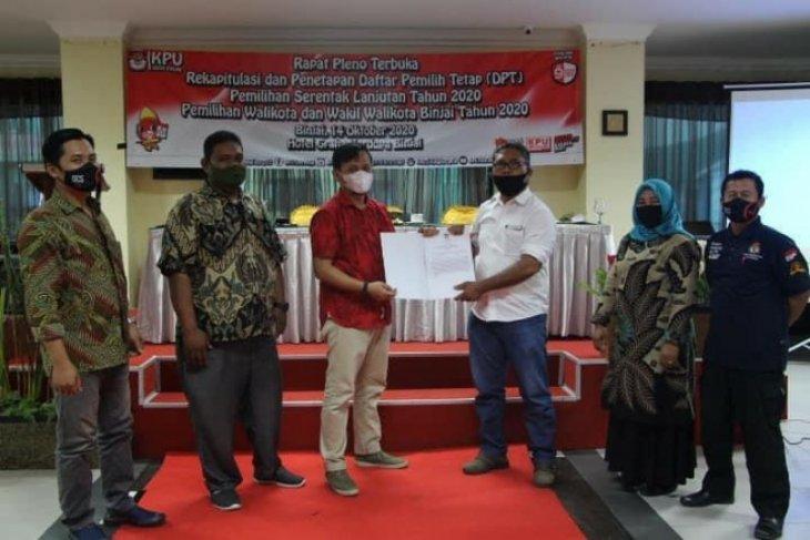 KPU Binjai tetapkan 179.560 warga yang berhak memilih