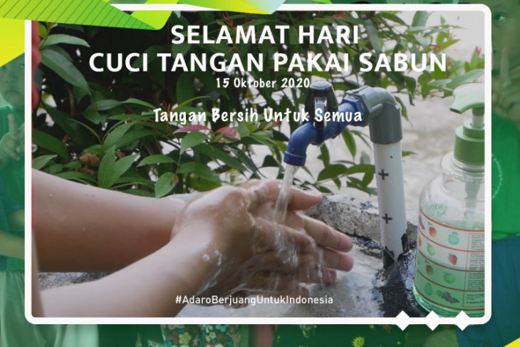 Ajak Masyarakat Bergoyang di Hari Cuci Tangan Sedunia