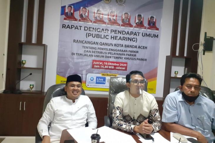 DPRK Banda Aceh mulai susun aturan parkir non tunai