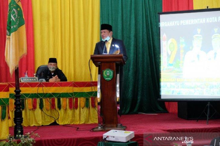 19 tahun Kota Padangsidimpuan, Wali Kota berharap banyak perubahan