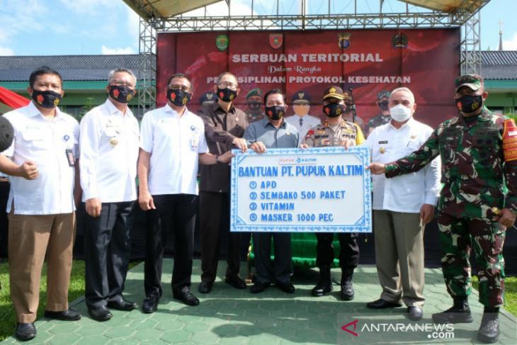 Rahmad Pribadi: Pupuk Kaltim Dukung Upaya TNI Tangani COVID-19