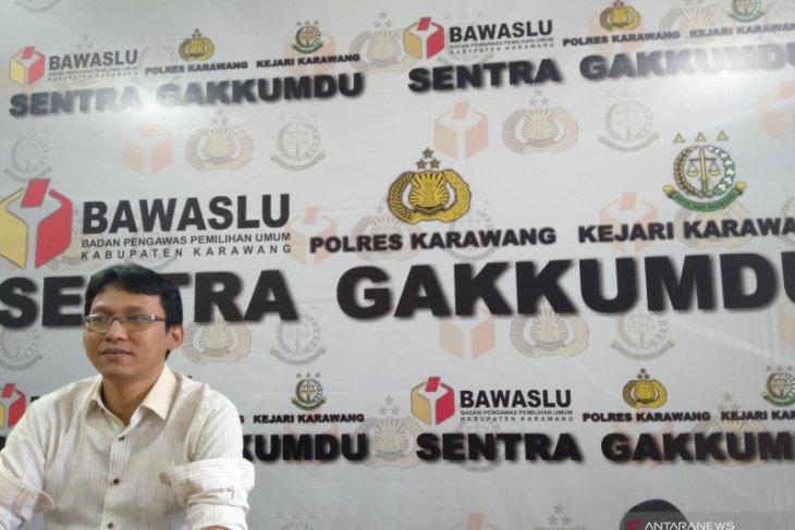 Bawaslu Karawang rekomendasikan dugaan pelanggaran netralitas ASN ke KASN