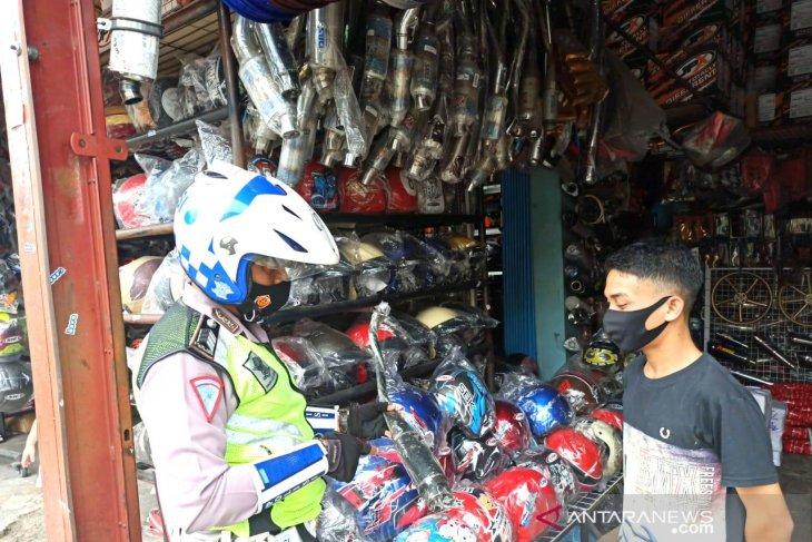 Polres Rejang Lebong larang pedagang jual knalpot racing