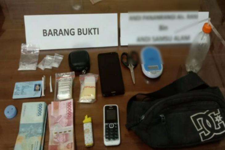 Polisi tangkap seorang pengedar sabu-sabu