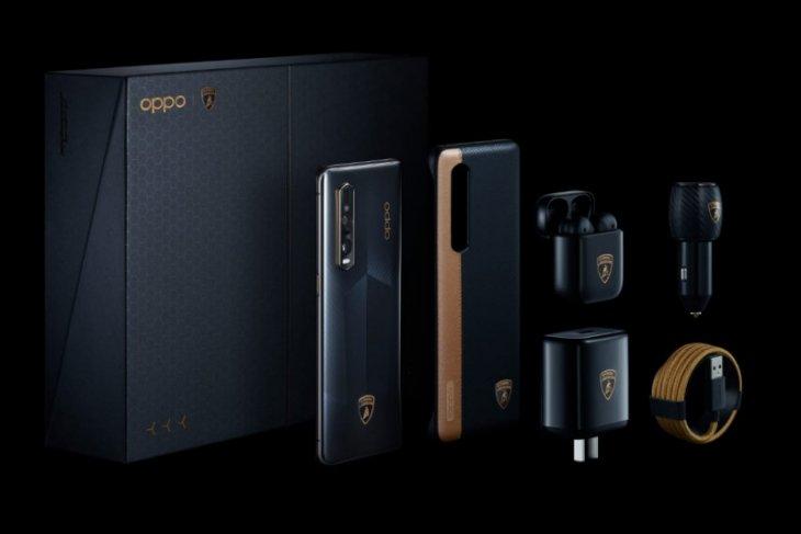 Oppo gandeng Lamborghini hadirkan Find X2 Pro edisi khusus