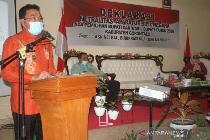 ASN Pemkab Gorontalo deklarasi netralitas di pilkada 2020