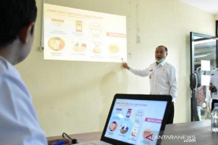 Pemprov Babel bagikan 5.000 kemasan produk untuk IKM terdampak COVID-19