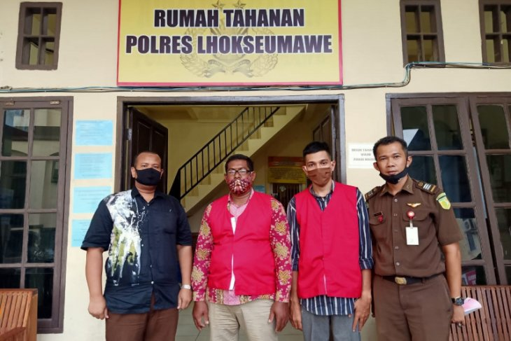 Korupsi dana desa, keuchik dan bendahara dipenjara empat tahun
