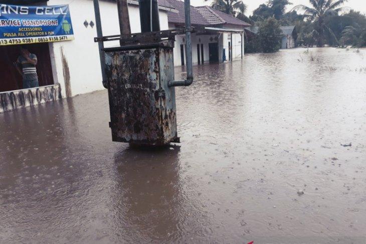 11 rumah warga di Kabupaten Penajam  kebanjiran