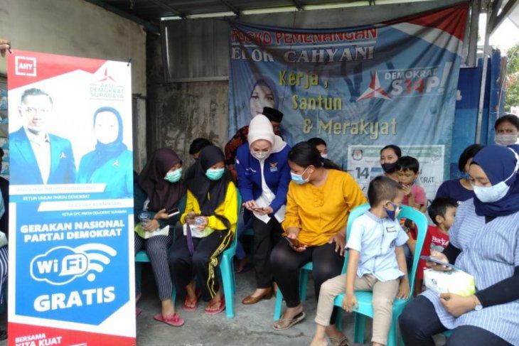 Partai Demokrat Surabaya luncurkan wifi gratis di 31 kecamatan