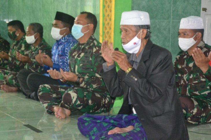 Doa bersama untuk sukseskan TMMD Reguler ke-109 Kodim 1015/Spt