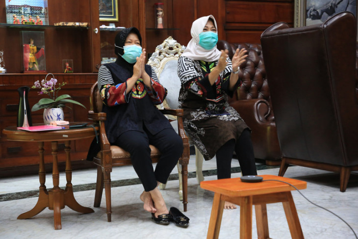 Risma luncurkan Kampung Pendidikan Kampunge Arek Suroboyo