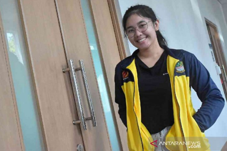Vidya Rafika mengikuti uji coba ke Kroasia jelang Olimpiade Tokyo
