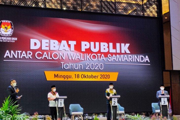 Penanganan COVID-19 salah satu tema debat calon Wali Kota Samarinda