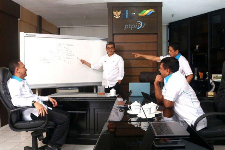 Cegah Penyebaran COVID-19, PTPN VII Kembali Laksanakan WFH