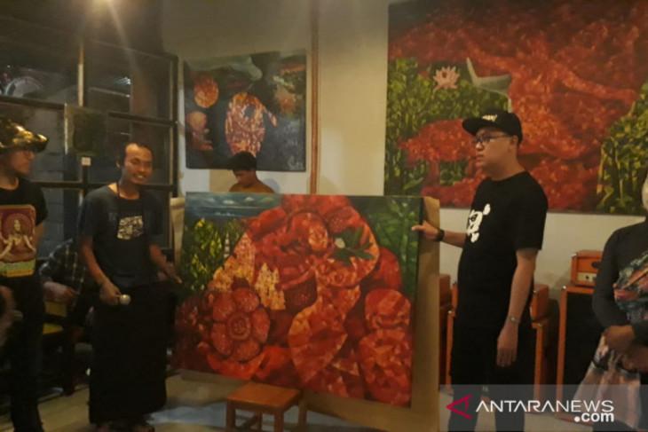 Seniman Rejang Lebong gelar pameran lukisan bertajuk