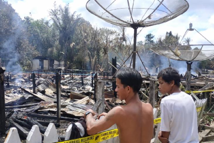 342 jiwa korban kebakaran Betang Sayut mengungsi ke rumah keluarga
