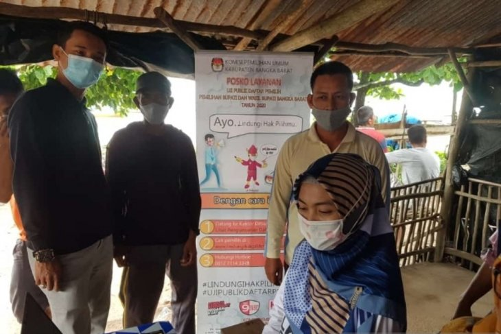 KPU Bangka Barat imbau pemilih tidak takut untuk datang ke TPS Pilkada 2020