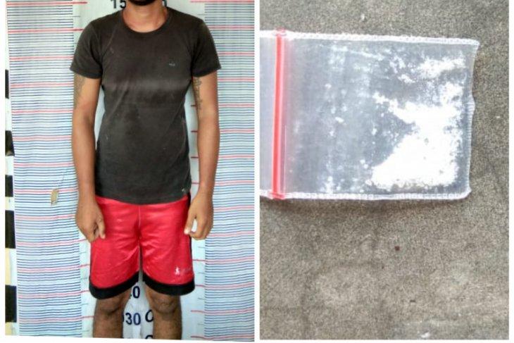 Polsek Pangkalan Brandan Langkat tangkap warga Sei Lapan karena beli sabu