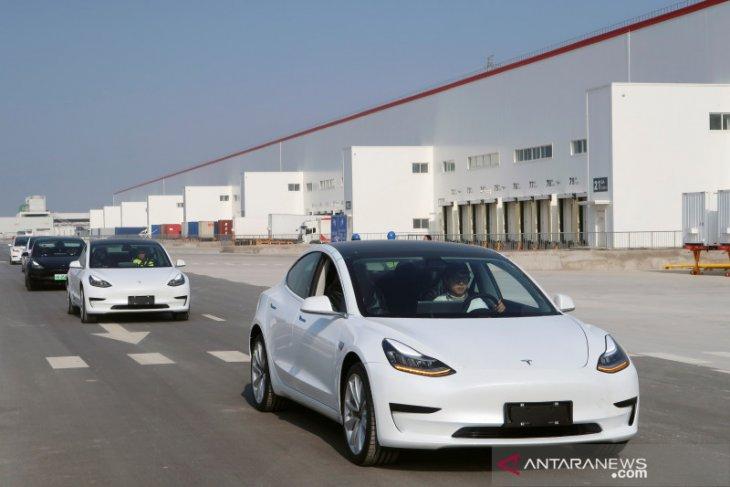 Mobil listrik Tesla buatan China diekspor ke Eropa
