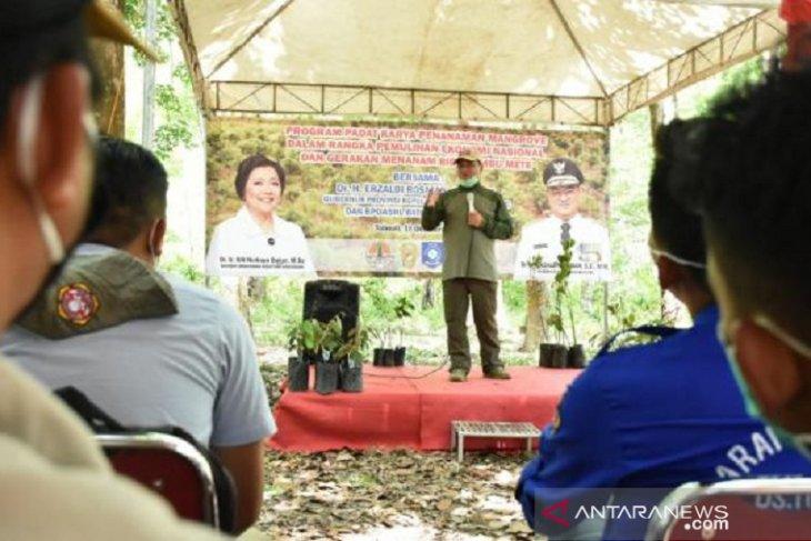 Pemprov Bangka Belitung bantu KTH Basel kembangkan kepiting bakau