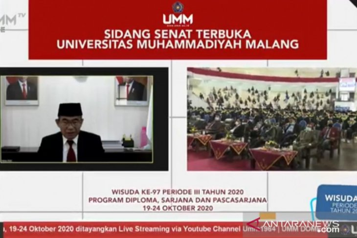 Menko PMK Muhadjir Effendi dorong lulusan sarjana jadi tenaga kerja mandiri