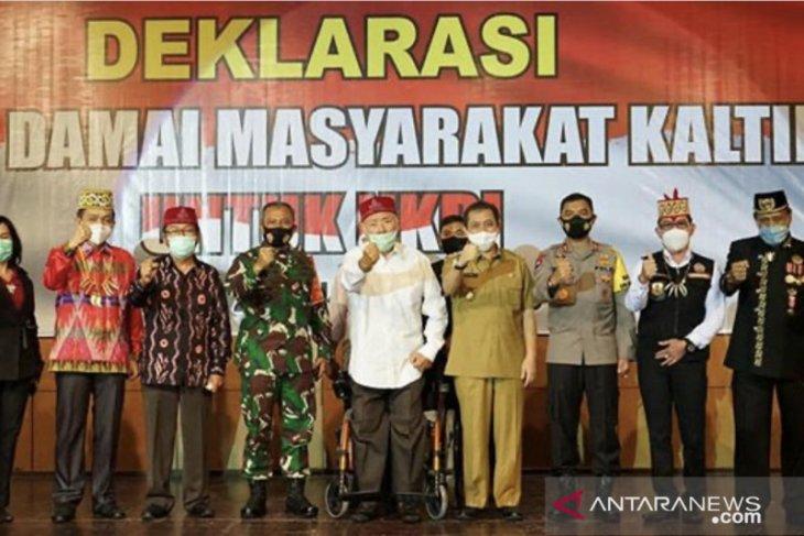 Forum Kebangsaan Kaltim deklarasi damai menjaga keutuhan NKRI