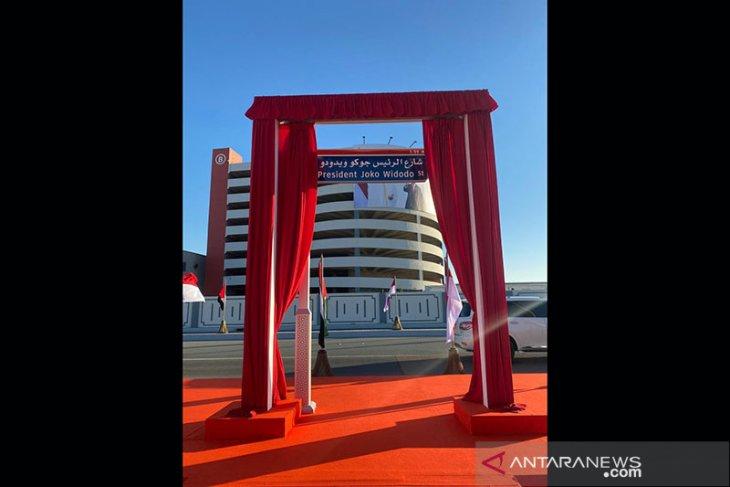 Presiden: Joko Widodo Street di Abu Dhabi kehormatan bagi Indonesia