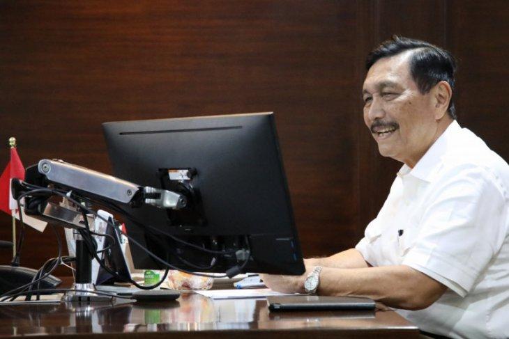 Menko Luhut ingin Indonesia jadi destinasi investasi kendaraan listrik