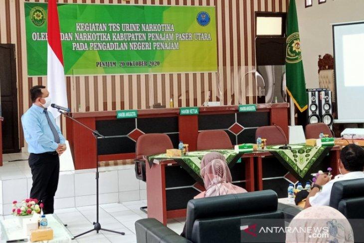 Pengadilan Negeri Penajam lakukan pembersihan pegawai dari narkoba