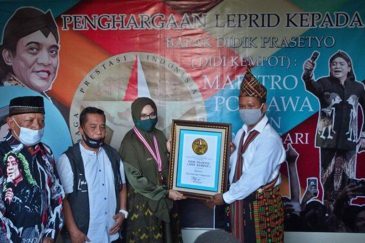 Penghargaan untuk Didi Kempot