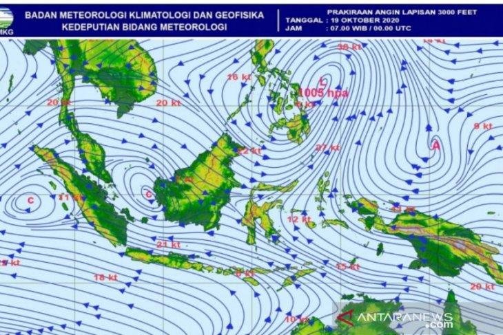 BMKG Aceh: cuaca ekstrem berpeluang akibat Eddy dan