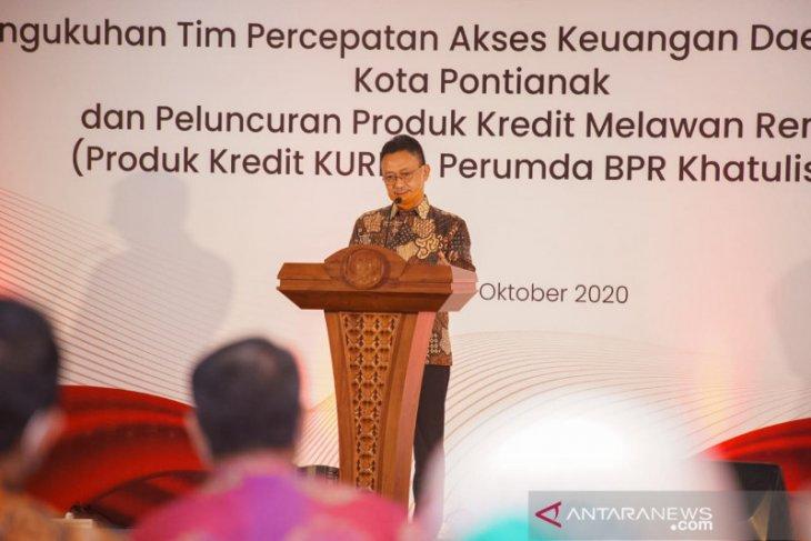 TPAKD Pontianak dikukuhkan dorong akses keuangan untuk perkuat ekonomi daerah