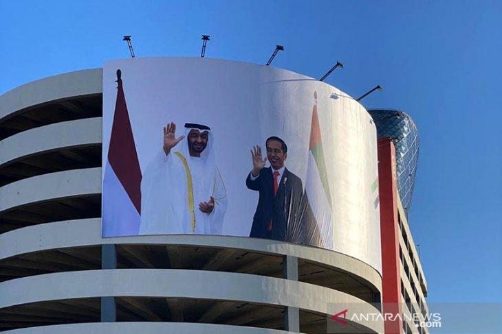 Pemerintah UAE meresmikan jalan