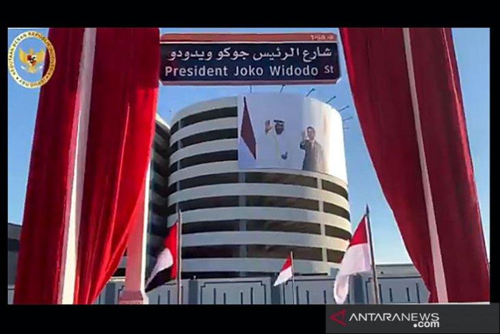 Joko Widodo Street in UAE is honor for Indonesia: President