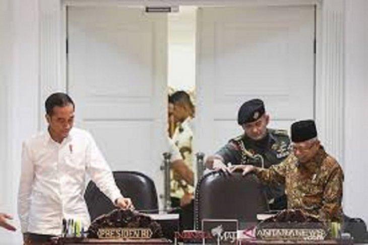 Setahun Jokowi-Ma'ruf: Pandemi COVID-19 sebagai tantangan