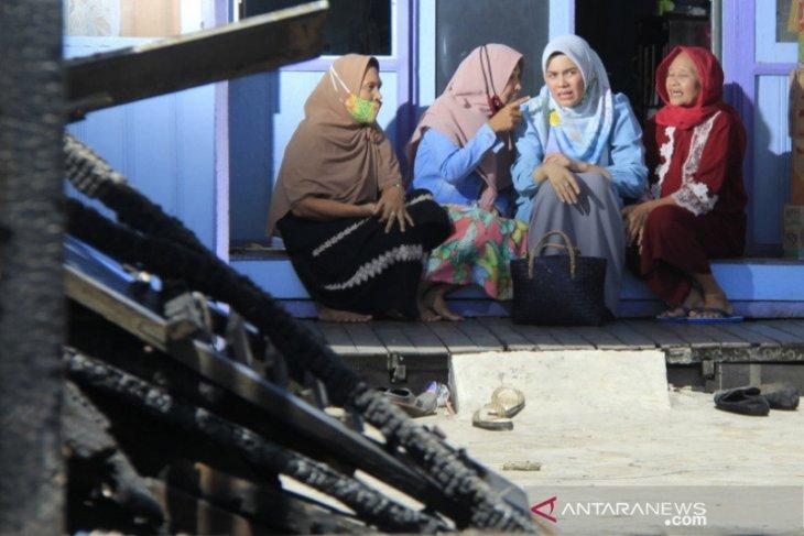 Hj Ananda berikan semangat korban kebakaran dan siap perjuangkan kaum ibu dan perempuan