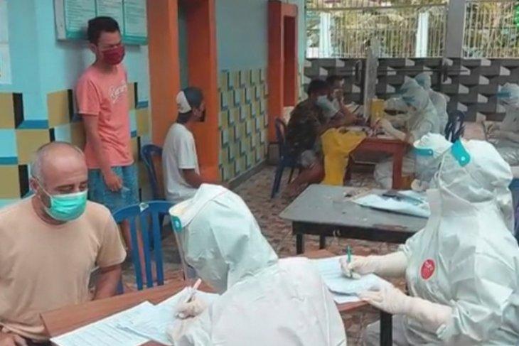 627 WBP di Lapas Kerobokan-Bali dinyatakan reaktif setelah tes cepat COVID-19