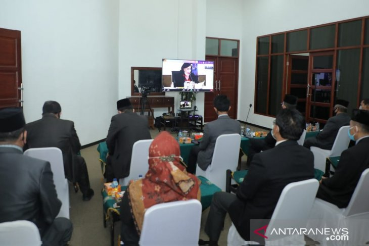 Gubsu Kukuhkan TPAKD Kabupaten Asahan melalui virtual