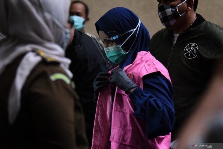Hakim Pengadilan Tindak Pidana Korupsi tolak keberatan Pinangki Sirna Malasari