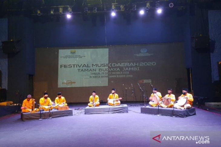 Taman Budaya Jambi  tingkatkan kemampuan pemusik Jambi melalui festival