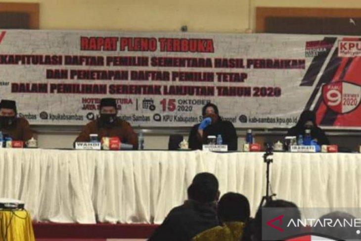 KPU Sambas ajak masyarakat menggunakan hak pilih pada Pilkada 2020