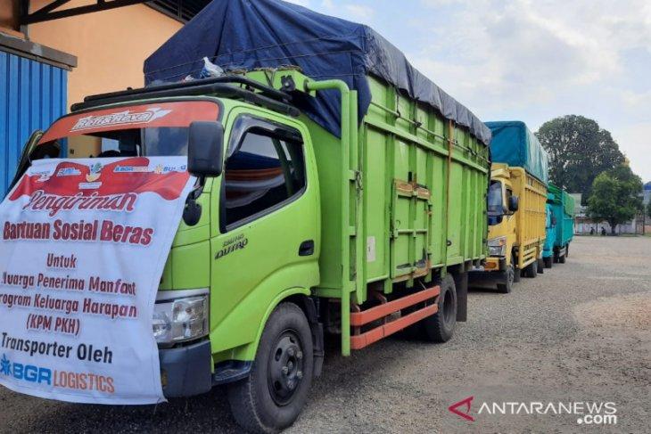 Penyaluran bansos beras di Jambi tuntas