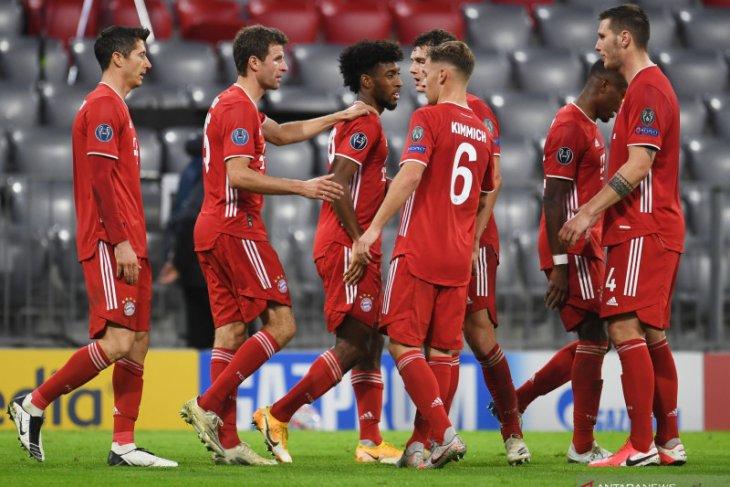 Hansi Flick puji efisiensi Bayern setelah bungkam Atletico 4-0