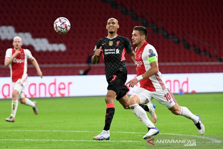Klopp sebut sapuan penting Fabinho cermin  kerja keras Liverpool