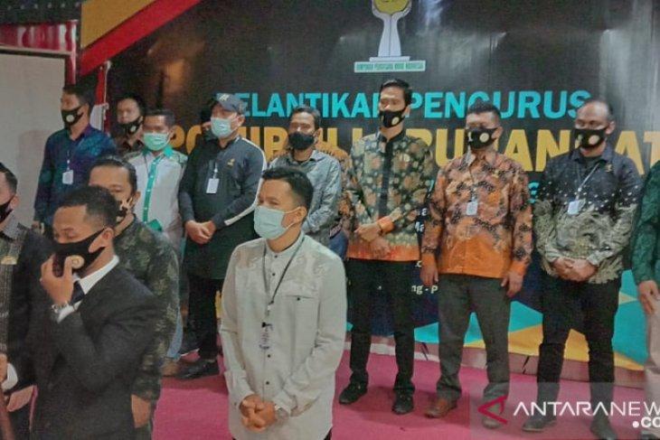 Pengurus HIPMI Kabupaten Labuhanbatu dilantik
