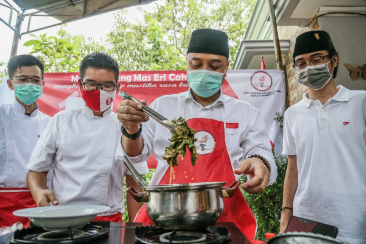 Pengusaha kuliner puji masakan Cawali Eri Cahyadi gunakan resep warisan Bung Karno